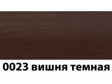 Фото  1 Плинтус с кабель каналом с прорезиненными краями 56х18мм 2,5м Тис вишня темная 2135183