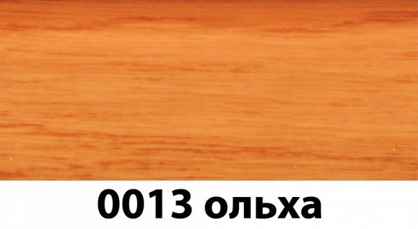 Фото  1 Плинтус с кабель каналом с прорезиненными краями 56х18мм 2,5м Тис ольха 2135193
