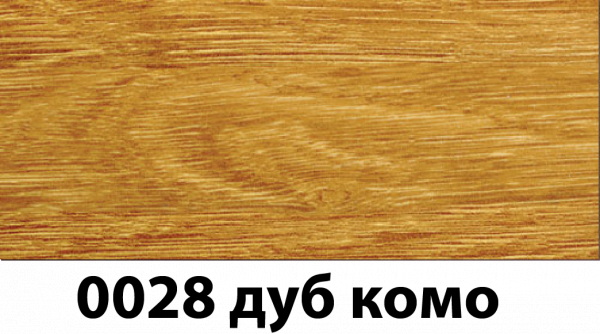 Фото  1 Плинтус с кабель каналом с прорезиненными краями 56х18мм 2,5м Тис дуб комо 2135187