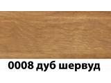 Фото  1 Плинтус с кабель каналом с прорезиненными краями 56х18мм 2,5м Тис дуб шервуд 2135191