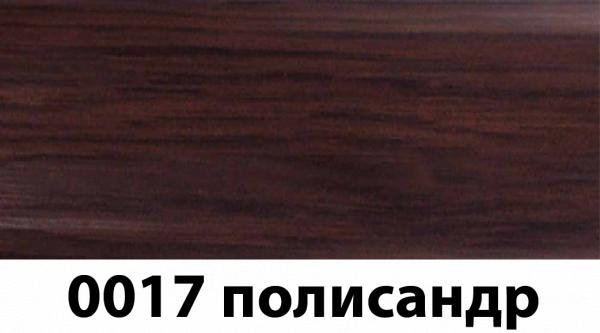 Фото  1 Плинтус с кабель каналом с прорезиненными краями 56х18мм 2,5м Тис палисандр 2135192