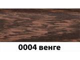 Фото  1 Плинтус с кабель каналом с прорезиненными краями 56х18мм 2,5м Тис венге 2135182
