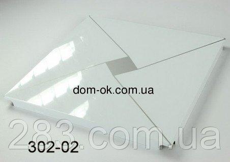 Фото  1 Плита алюминиевая тип Бафони № 302-02 Алюминиевый потолок № 302-02 2162140