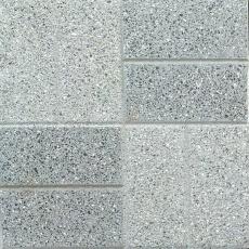 Плита бетонная мозаичная гиперпрессованная . Состав гранит-мрамор. Кимерия- паркет комбинированная 400х400х50мм