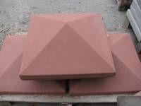 Плита на стовпчик, крышка на столбик, різні розміри, качественно и не дорого. Так же парапетные плиты. .