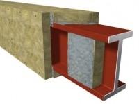 Плита огнезащитная для изоляции конструкций из металла Технониколь, толщина 70мм