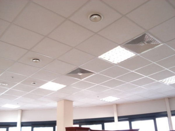 Плита Лагуна 600х600мм, толдщина 7мм для системы подвесного потолка