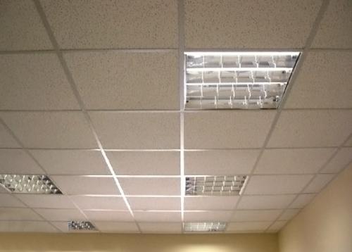 Плита типа Армстронг для подвесного потолка. Размер 60х60см. полная комплектация для подвесного потолка.