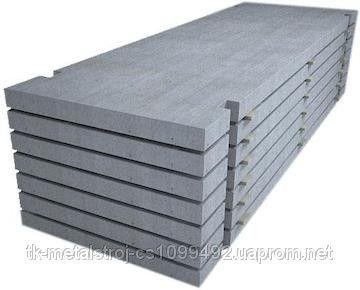 Плита железобетонная аэродромная ПАГ18 6000-2000-180