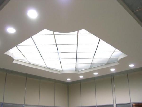 Плиты для светящегося потолка 600 х 600 х 1,5мм, для потолков армстронг, 95% пропуск света (не акрил)
