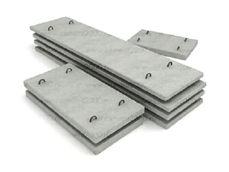Плиты перекрытия лотков П 6-15 размер 2990х800х100 мм