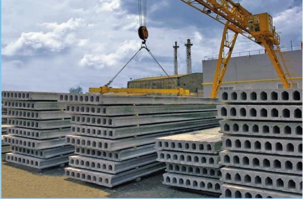 Плиты перекрытия, Панели перекрытия всех видов (длина от 1,7 до 9 м ; ширина от 0,4 до 1,5 м) с Доставкой. Низкие цены.