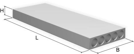 Плиты перекрытия ПК от24-10 до 72-10