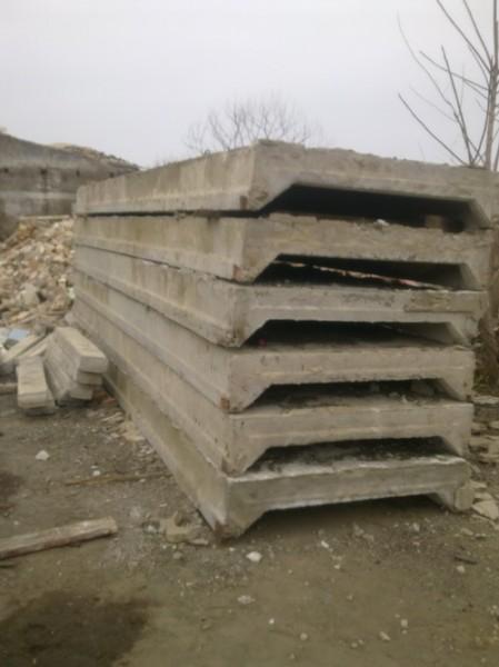 Плиты перекрытия ребристые ПКЖ бу. Цены указаны с доставкой.