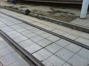 Плиты трамвайных путей 1П 7-14-12