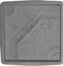 Тротуарная плитка Восьмиугольник 40х40