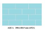 плитка AQUA для бассейна 300x148x9