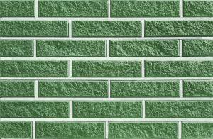 Плитка Фагот фасадная Зеленая