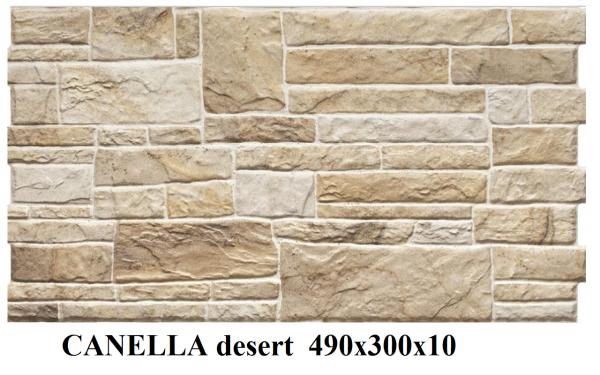плитка фасадная CANELLA desert 490x300x10