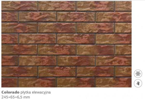 плитка фасадная колорадо 24,5х6,5