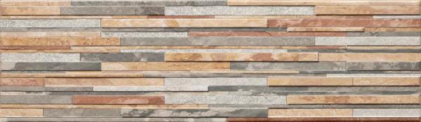 плитка фасадная Зебрина пастель 600x175x9 мм