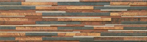 плитка фасадная Зебрина руст 600x175x9 мм