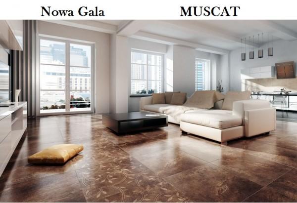 Плитка керамогранит Нова Гала, грес Nowa Gala MUSCAT, MS матов от 170 грн