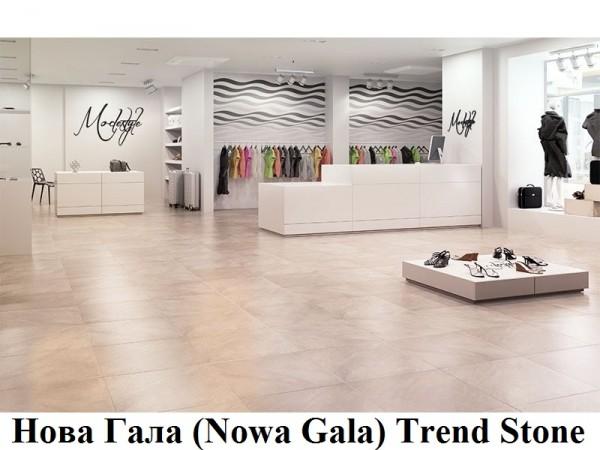 Плитка керамогранит Нова Гала, Nowa Gala Trend Stone 60x60 Класс истираемости: 5, от 230 грн