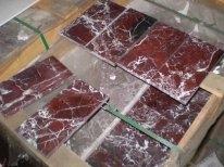 Плитка мраморная, гранитная, из травертина и оникса