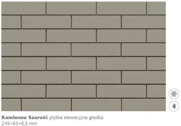 плитка Каменная Серость 245 х 65 х 6,5 мм