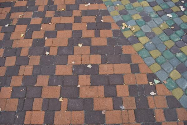 Плитка Старый город 45 мм оранжевый