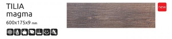 плитка напольная тилия магма