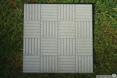 Плитка тротуарная 5К7 300х300х60 ФЕМ
