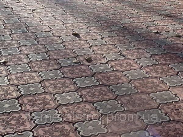 Плитка тротуарная Декор