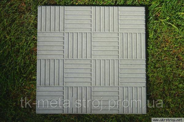 Плитка тротуарная ПТ 0,5-0,5 ФЕМ