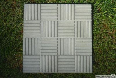 Плитка тротуарная ПТ0,5-0,5 500х500х50 ФЕМ