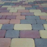 """Плитка тротуарная """"Старый город"""". Сухопрессованая. 4 элемента, 17комплектов, высота 60мм. Различных цветов."""