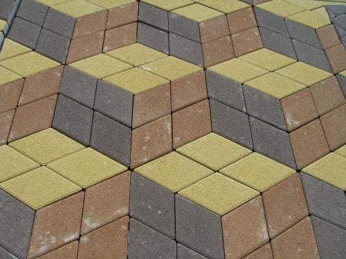 Плитка тротуарная Ромб Киев. Размеры 245*145, толщина 60мм. Доставка, укладка, дёшево