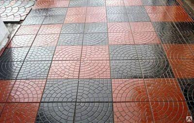 Плитка тротуарная Сегмент