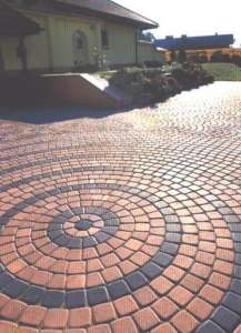 Плитка тротуарная «Трапеция» размеры 243*107*80, толщиной 80мм