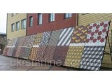 Фото  1 Плитка тротуарная вибролитая серая 300х300х30мм (цвет в ассортименте) 2191758