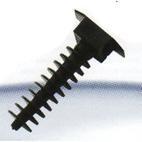 Площадки для монтажа CTM-3-B, черный (дюбель монтажный)