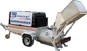 Пневмобетононасос BMS Worker N 1 Sigma 4 Zylinder SUPERCHARGER