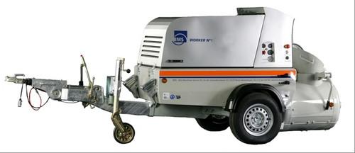 Пневмоподатчик (пневмонагнетатель) BMS Worker №1 для приготовления и подачи сухих смесей