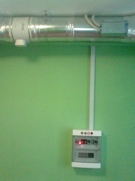 Подбор вентиляциоонного оборудывания