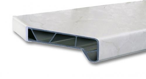 Подоконник Moller PС-40 Пластик комфорт 6000x200мм (м. пог. )