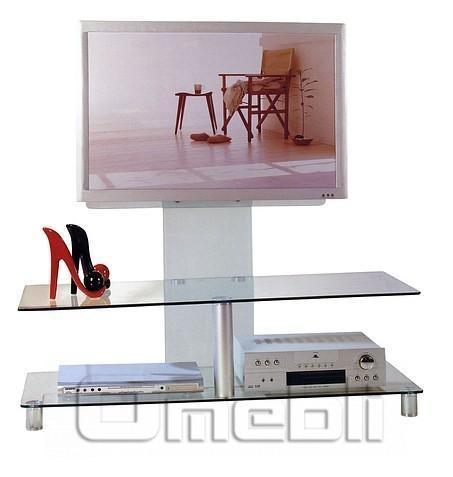 Подставка под ТВ F-05 стекло черное A10195