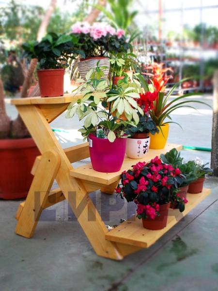 Подставки для цветов для двора своими руками