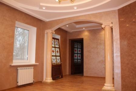 подвесные потолки 2-3уровня любой сложности, арки, карнизы, декор. элементы из гипсокортона.