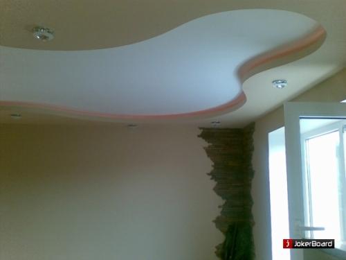 Подвесные потолки 2 уровня